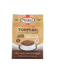 Primal Market Mix Raw Toppers - Lamb