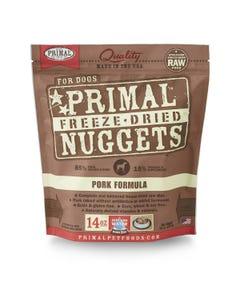 Primal Canine Freeze-Dried Nuggets - Pork Formula