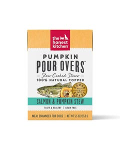 The Honest Kitchen Pumpkin Pour Overs - Salmon & Pumpkin Stew