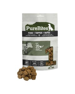Purebites RAW Freeze Dried Complete & Balanced Food Topper - Beef Recipe