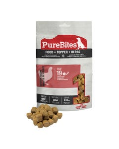 Purebites RAW Freeze Dried Complete & Balanced Food Topper - Chicken Recipe
