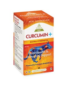Purica Pet Curcumin+ Extra Strength Joint Health & Immunity Support