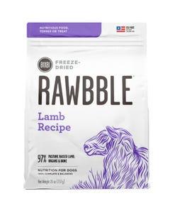 Bixbi Rawbble Freeze Dried Dog Food - Lamb