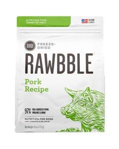 Bixbi Rawbble Freeze Dried Dog Food - Pork