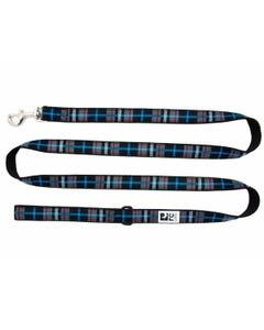 RC Pet Dog Leash - Black Twill Plaid
