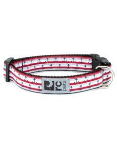 RC Pet Dog Collar - Nautical
