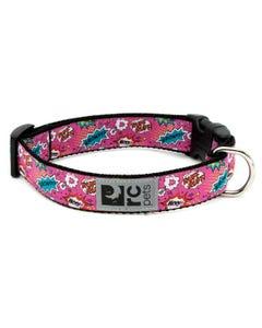 RC Pet Dog Collar - Pink Comic Sounds