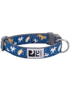 RC Pet Wide Clip Collar for Dogs - Space Dogs