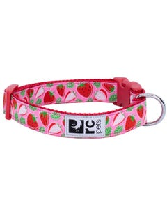 RC Pet Clip Collar for Dogs - Strawberries