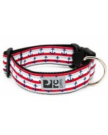RC Pet Wide Clip Collar for Dogs - Nautical