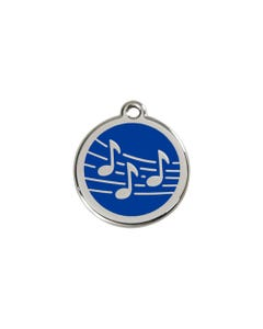 Red Dingo ID Tags - Music Notes