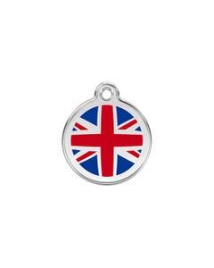 Red Dingo ID Tags - UK Flag