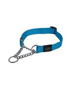 Rogz Martingale Dog Collars - Turquoise