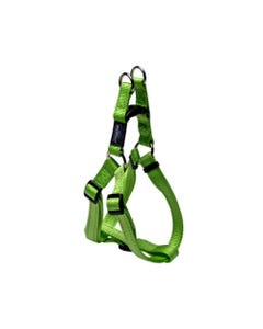 Rogz Reflective Dog Step-In Harnesses - Lime Green