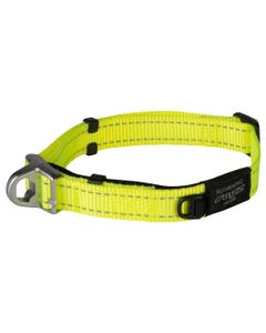 Rogz Dog Quick Release Magnetic Safety Collar - Yellow
