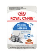Royal Canin Indoor 7+ Morsels in Sauce Pouch Cat Food