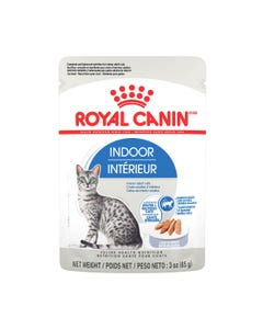 Royal Canin Indoor Adult Loaf in Gravy Pouch Cat Food