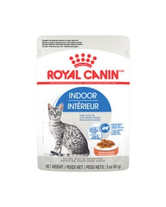 Royal Canin Indoor Adult Morsels in Sauce Pouch Cat Food