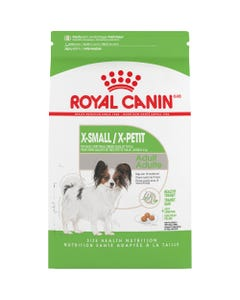 Royal Canin X-Small Adult Dry Dog Food - Front of Packaging