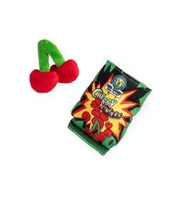 Silver Paw Cherry Zingers Dog Toy
