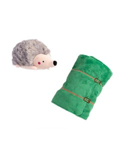 Silver Paw Sleeping Porcupine Dog Toy