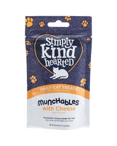 Simply Kind Hearted Munchables With Cheese Daily Cat Treats