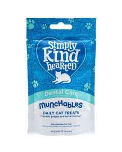 Simply Kind Hearted Munchables Dental Care Cat Treats