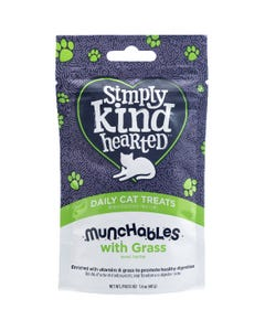 Simply Kind Hearted Munchables With Grass Cat Treats