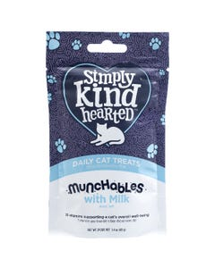 Simply Kind Hearted Munchables With Milk Daily Cat Treats