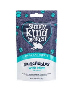 Simply Kind Hearted Munchables With Mint Daily Cat Treats