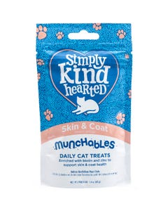Simply Kind Hearted Munchables Skin & Coat Cat Treats