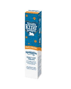 Simply Kind Hearted Squeezables Daily Cat Treat Tube - Multi-Vitamin