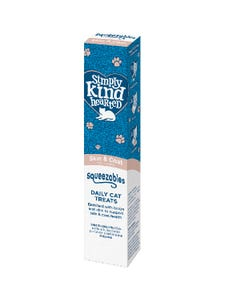Simply Kind Hearted Squeezables Daily Cat Treat Tube - Skin & Coat