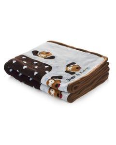 Smart Pet Love Snuggle Blankets - Brown & Blue