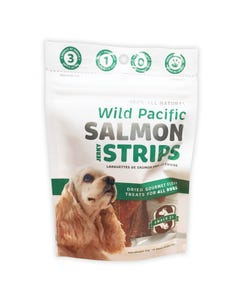 Snack 21 Wild Pacific Salmon Strips - New Packaging