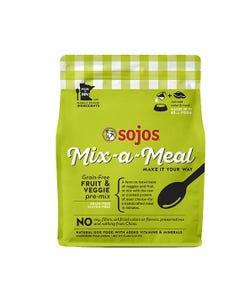 Sojos Mix-a-Meal Grain-Free Recipe Pre-Mix Dog Food - Fruit & Veggie Recipe