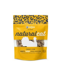 Sojos Natural Cat Treats - Turkey Liver - 30 g (1 oz)