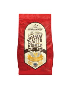 Stella & Chewy's Raw Coated Kibble - Cage-Free Chicken Small Breed Recipe - 3.5 lb