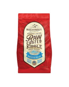Stella & Chewy's Raw Coated Kibble - Wild-Caught Whitefish Recipe - 3.5 lb