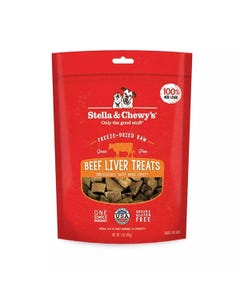 Stella & Chewy's Freeze-Dried Raw Beef Liver Dog Treats
