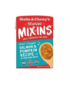 Stella & Chewy's Marie's Mix-Ins Meal Enhancer for Dogs - Salmon & Pumpkin Recipe