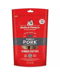 Stella & Chewy's Purely Pork Freeze-Dried Raw Dinner Patties