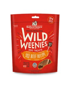 Stella & Chewy's Wild Weenies Grass-Fed Beef Recipe Dog Treats