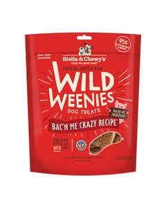 Stella & Chewy's Wild Weenies Bac'n Me Crazy Dog Treats