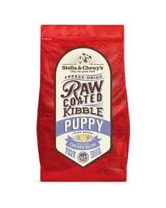 Stella & Chewy's Raw Coated Kibble - Cage-Free Chicken Recipe for Puppies