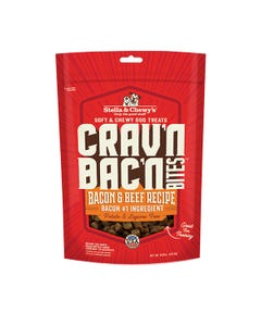 Stella & Chewy's Crav'n Bac'n Bites for Dogs - Bacon & Beef Recipe