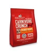 Stella & Chewy's Carnivore Crunch - Grass-Fed Beef Recipe Dog Treats - Front of Package