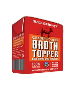 Stella & Chewy's Bone Broth Topper - Grass-Fed Beef Broth Topper