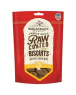 Stella & Chewy's Raw Coated Dog Biscuits - Cage-Free Chicken Recipe
