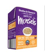 Stella & Chewy's Grain-Free Marvelous Morsels Wet Food for Cats - Cage-Free Turkey